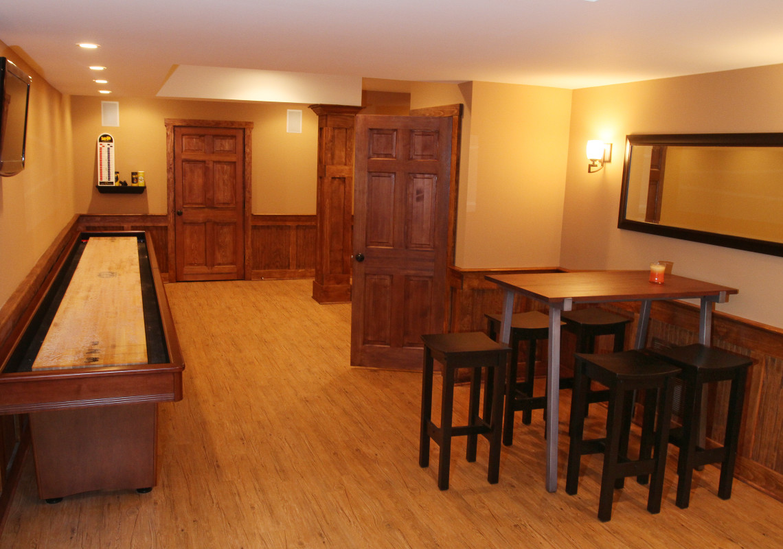 Basking Ridge Basement remodeling